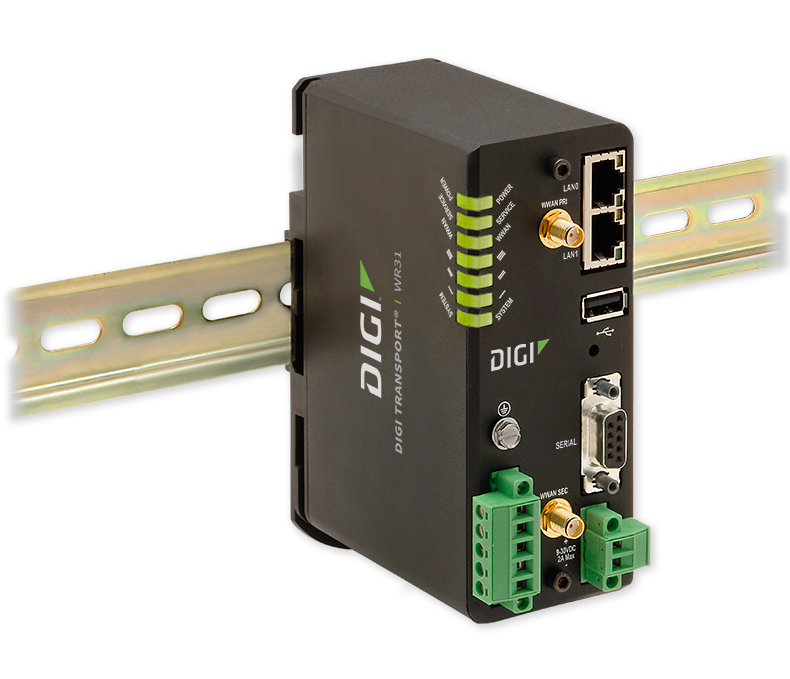 TransPort WR31 - Cellular Router | Digi | DH Wireless Solutions
