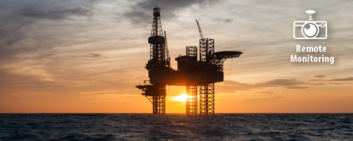 Remote monitoring for the gas & oil industry