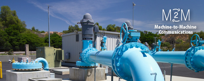 Water Treatment Plant with M2M technology